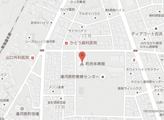 総合体育館マップ