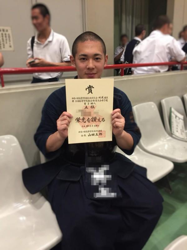 Rくん5位入賞おめでとうございます!