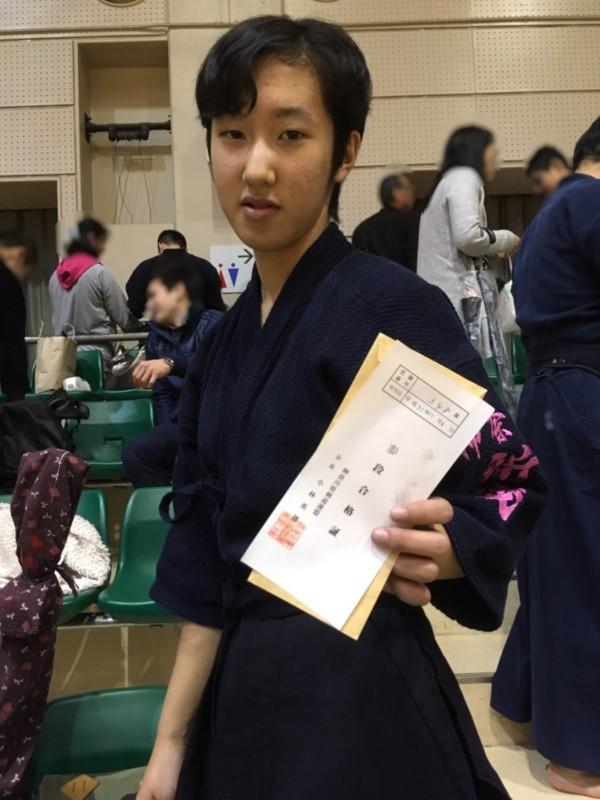 Rちゃん三段合格おめでとうございます\(^o^)/