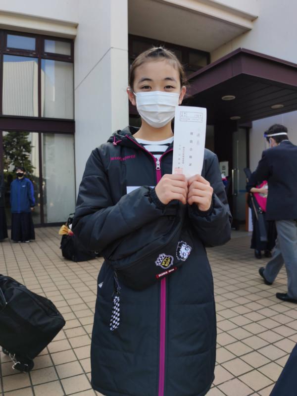 Kちゃん初段合格おめでとうございます!