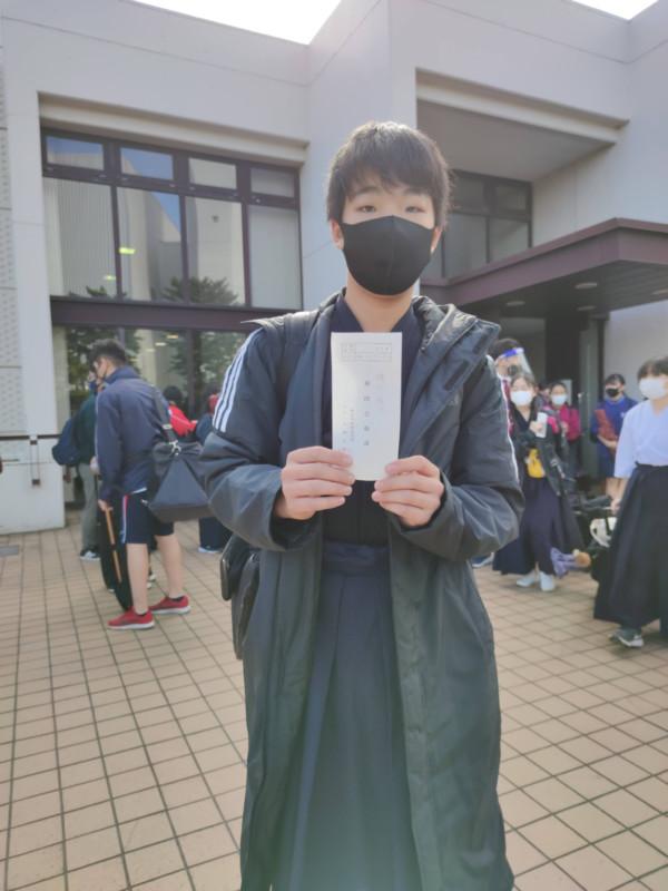 Hくん初段合格おめでとうございます!
