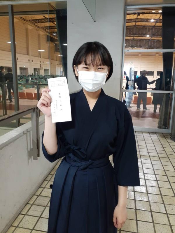 Sちゃん二段合格おめでとうございます!